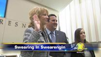 Mayor Ashley Swearengin begins her second term
