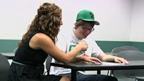 College Draws Success From Autistic Students