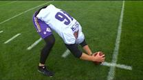 Long Snapper Has Long Run With Vikings