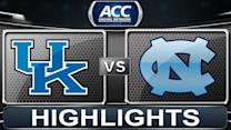 Kentucky vs North Carolina | 2013 ACC Basketball Highlights