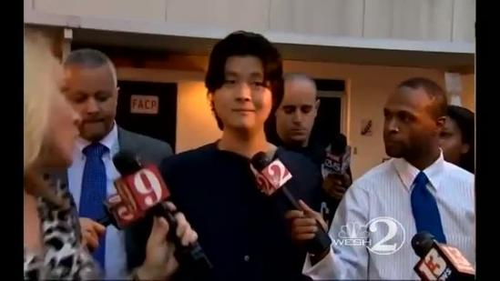 RAW VIDEO: Xin Liu taken to jail after search, arrest