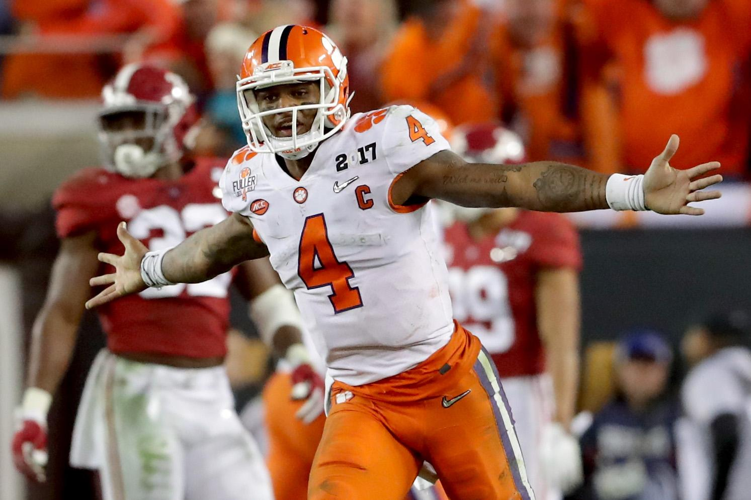 Did Deshaun Watson boost NFL draft stock with memorable game vs. Alabama?