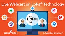 Semtech Presents LoRa Technology for IoT in Live Webcast with Keysight Technologies