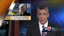 President Bill Clinton speaks to UCF graduates