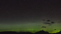Northern Lights Spotted Over Montana's Glacier National Park