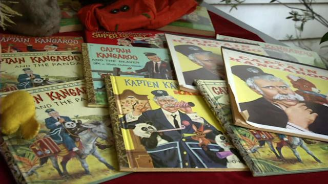 'Captain Kangaroo' treasures now on sale