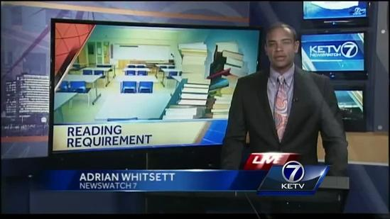 Nebraska lawmaker proposes tougher reading requirements