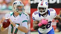 Dolphins-Bills toss-up