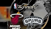 Raw: Heat, Spurs Back on Court Ahead of Game 7