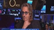 Rick Springfield at the NYSE