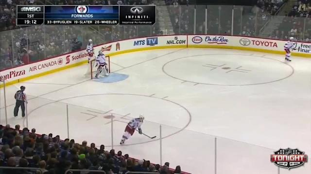 NY Rangers Rangers at Winnipeg Jets - 03/14/2014