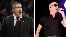 South Carolina coach Frank Martin is the world's biggest Pitbull fan