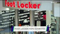 Foot Locker kicks up its heels; Staples sales drop; The Gap stumbles