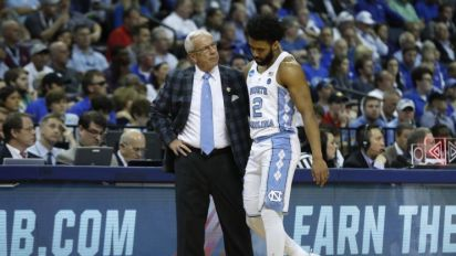 Roy Williams worried about Joel Berry's ankle