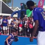 Joel Embiid Played Basketball Against Children And Showed Them No Mercy
