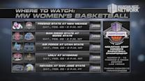 Where to Watch MW Women's Basketball 2/25/15