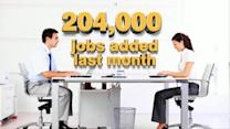 Jobs Report Shows 204K Jobs Added in October