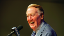 Vin Scully might be too busy to watch the Dodgers opener
