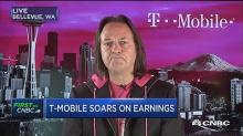T-Mobile CEO John Legere says AT&T is 'bleeding'