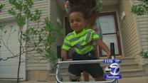 Toddler with rare disorder takes 1st steps (and how you can help!)