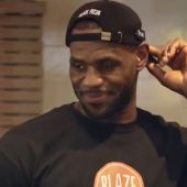 LeBron James Gets More Toppings On His Pizza Than You've Ever Even Considered