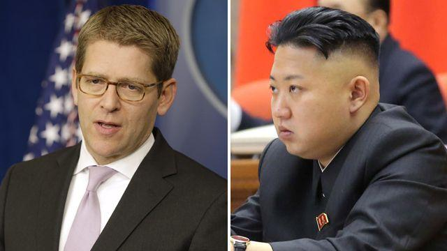 White House looks to ease tensions with North Korea