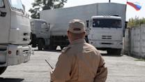 Russian Aid Convoys 'Illegally' Enter Ukraine