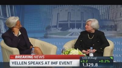 Yellen: Monetary policy not first line of defense