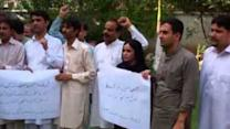 Pakistani Journalists Protest Against Killing of Three Colleagues