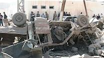 Raw: Deadly Blast at Iraq Police Station