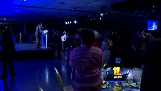 Ben Carson honors gifted students, talks Hopkins clash
