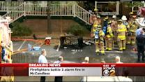 3 Alarm Apartment Building Fire In McCandless