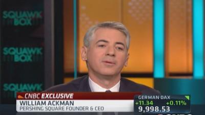 Ackman: Valeant 'not just a rollup'