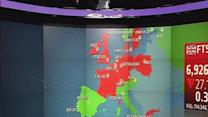 Europe closed mostly lower; Greece in focus