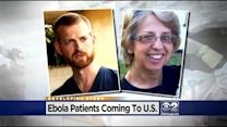 2 Ebola Patients Coming To U.S.