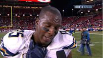 San Diego Chargers tight end Antonio Gates on win: 'We never gave up'