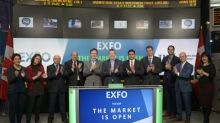 EXFO Inc. Opens the Market