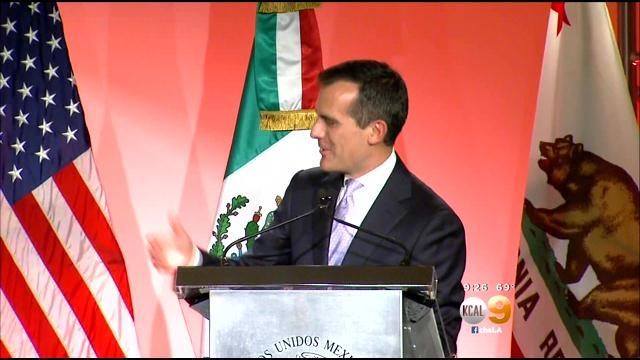 Mexican president praises California policies