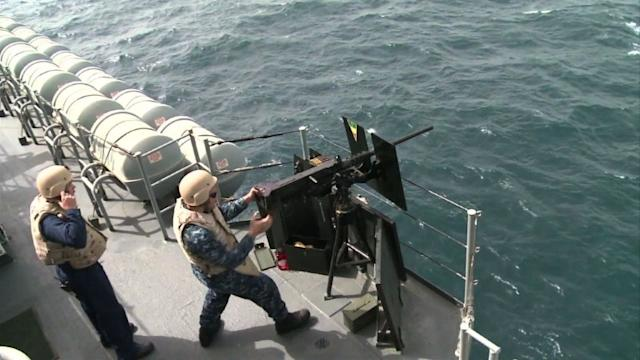 Naval forces in Gulf for massive anti-mine excercise