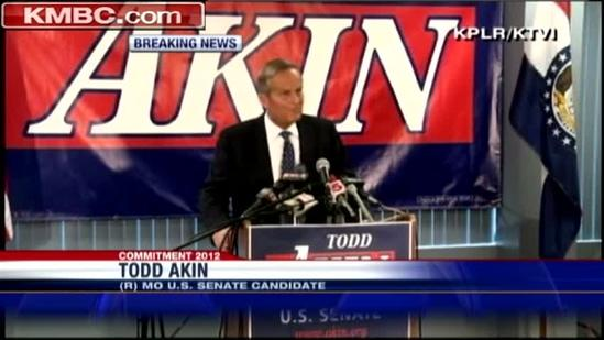 Akin plans to stay in race through November vote