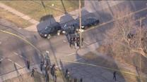 Law enforcement officers shot in Detroit