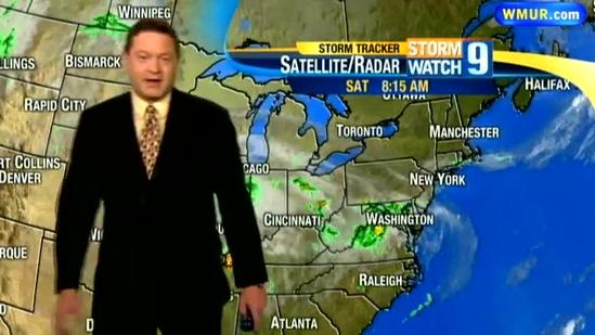 Saturday morning weather