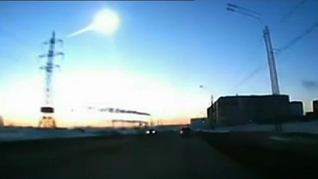 Russia hit by meteor shower