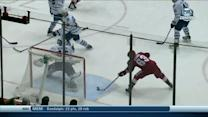Mike Ribeiro redirects a pass behind Bernier