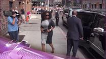 Entertainment News Pop: Oprah Winfrey Meditates With David Letterman on the Late Show
