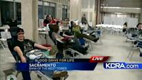 Hundreds turn out for KCRA 3 Blood Drive