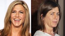 Celebs With And Without Makeup