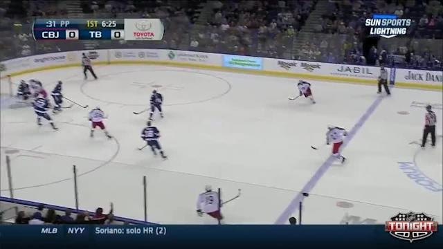 Columbus Blue Jackets at Tampa Bay Lightning - 04/11/2014