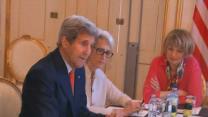 Kerry 'Working Hard' on Iran Nuclear Talks