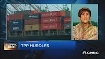 US Congresswoman: TPP is riddled with problems